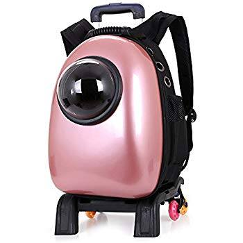 Pettom Pet Carrier Backpack Airline Approved Travel Hiking Bubble Backpack $25.60 + FS @Amazon