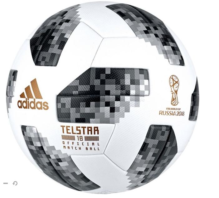 adidas 2018 FIFA World Cup Russia Telstar Official Match Ball- $65.99 Free Shipping