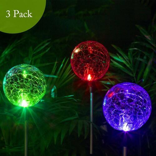 Solpex Solar Globe Lights Outdoor Christmas Yard Decorations 9 99