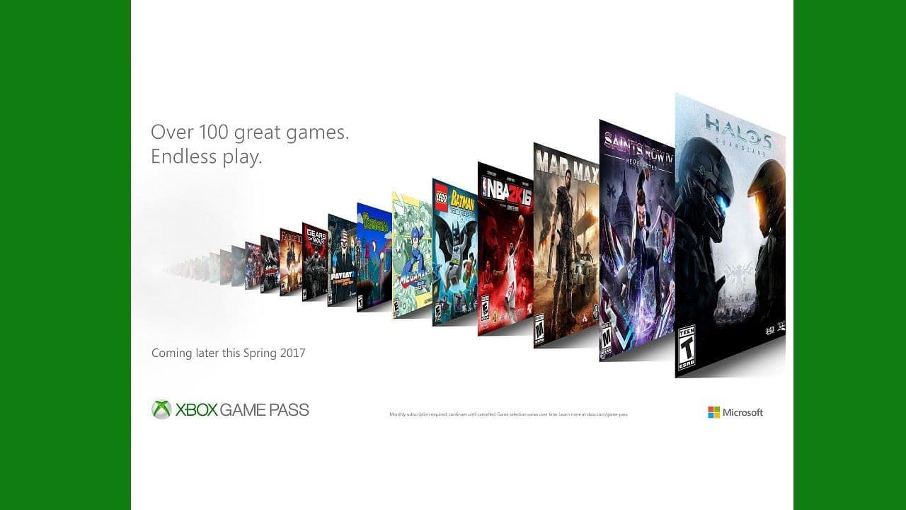 Xbox Game Pass 1 month $8.59