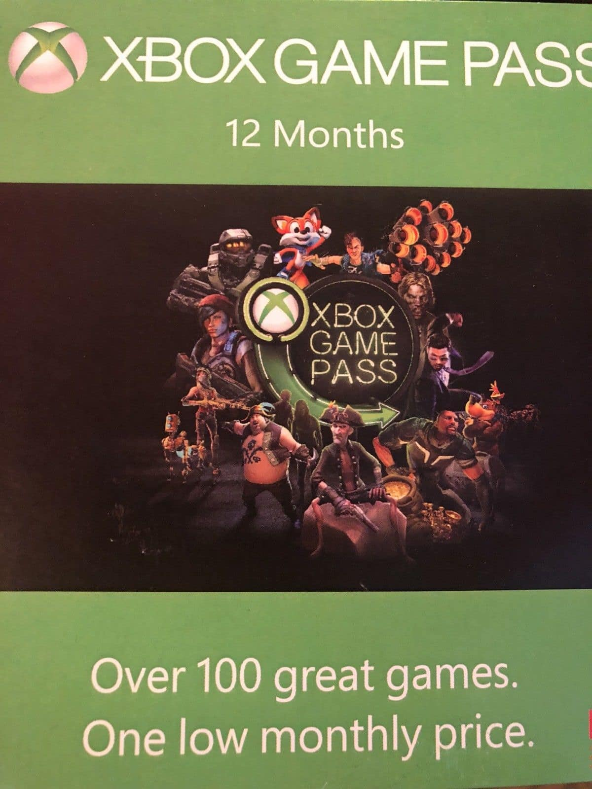 Xbox Game Pass 12 month $71.71