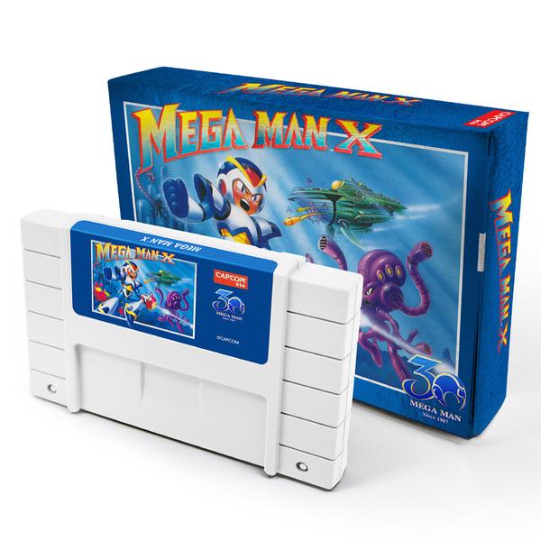 Mega Man X SNES or Mega Man 2 NES (30th Anniversary Edition) $100