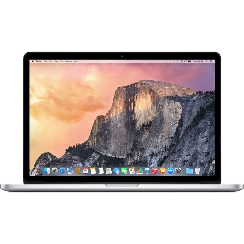 "2015 Apple Retina Macbook Pro 15.4"" Clearance at Frys ($1,609.30 for 512GB, M370X and $1,259.30 for 256GB, Iris Pro) on 12/26"
