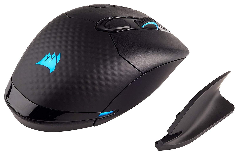 Amazon - Corsair Dark Core RGB Wireless Gaming Mouse (Renewed) for $19.99
