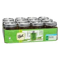 Amazon Deal: Mason Jars - $7.91 for 6, or 12 for $9.87; Prime or FSSS