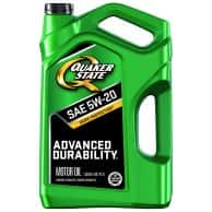 Quaker state 5qts oil + $5 Walmart Gift Card for $9