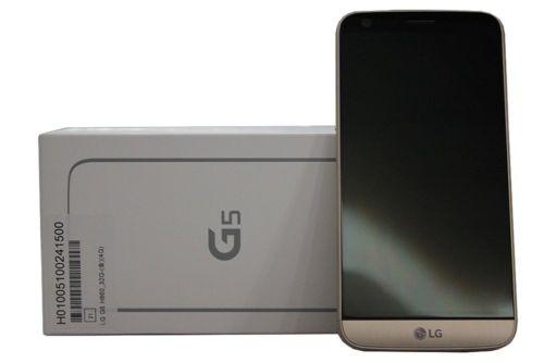 LG G5 H860 32GB 4GB RAM 16MP Dual Sim Phone Gold Brand New+Gift $449.99 + Free Shipping