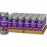 24-Pack 8oz V8 +Energy Drink (Pomegranate Blueberry or Peach Mango) $9.75 w/ S&S & More + Free S/H