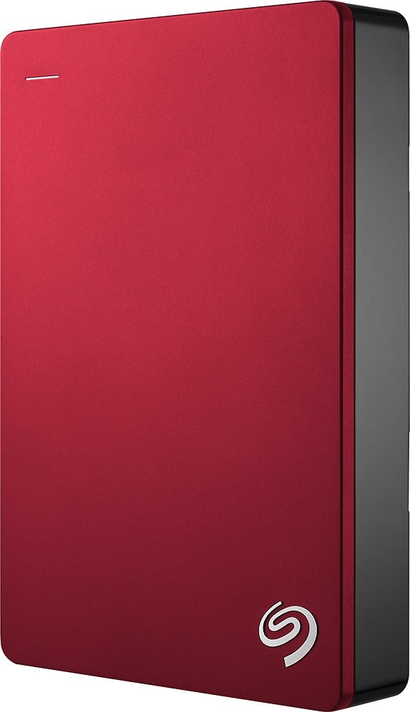 Google Express New Customer: 5 TB Seagate Backup Plus External HDD(Portable Drive-Red) $89.99 + F/S