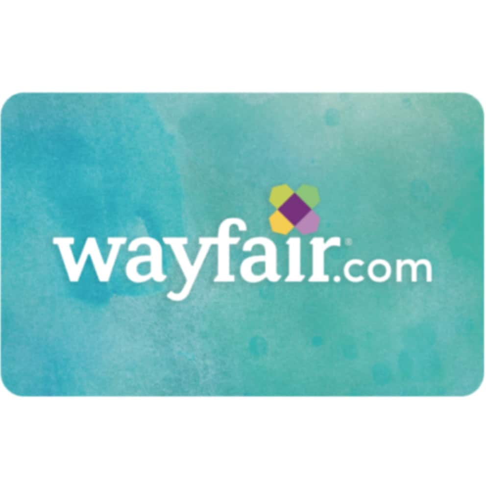 PayPal Digital Gifts via Ebay: $50 Gift Card Wayfair, Gymboree(Email Delivery) for $40 & More