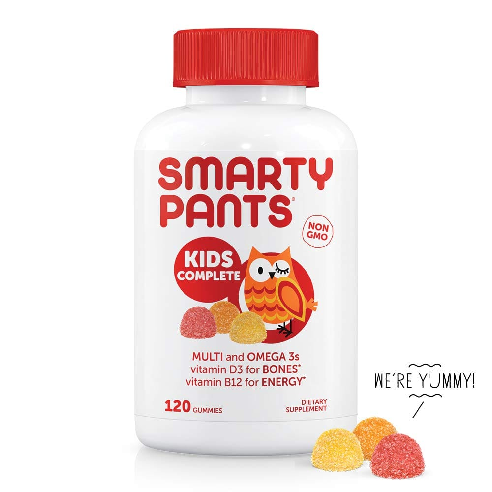 120 Count SmartyPants Kids Complete Daily Gummy Vitamins(30 Day Supply) AC $8.59 w/S&S & More+ F/S