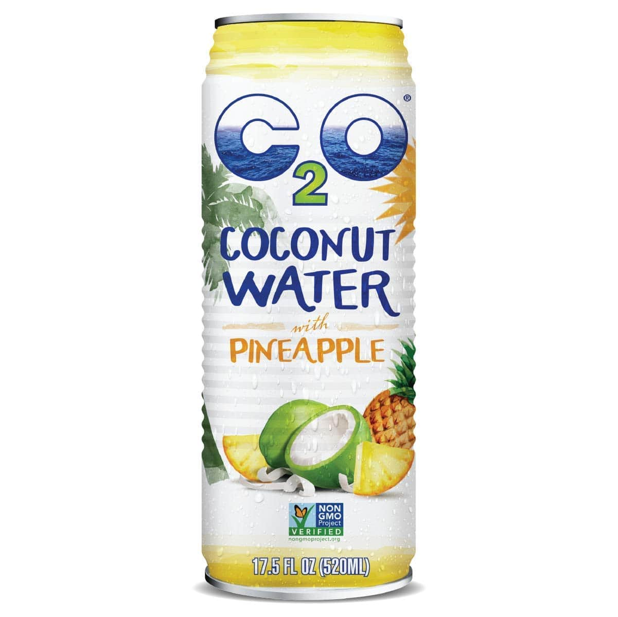12 Count 17.5oz C2O Pure Coconut Water with Pineapple $15.58 AC +F/S