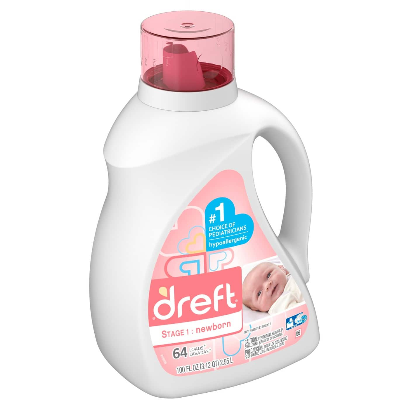 Target Cartwheel: 2 Count 100oz Dreft Stage 1 (or) Stage 2 HEC Liquid Detergent + $5 Target GC $25.50 w/ S&S + Free pickup