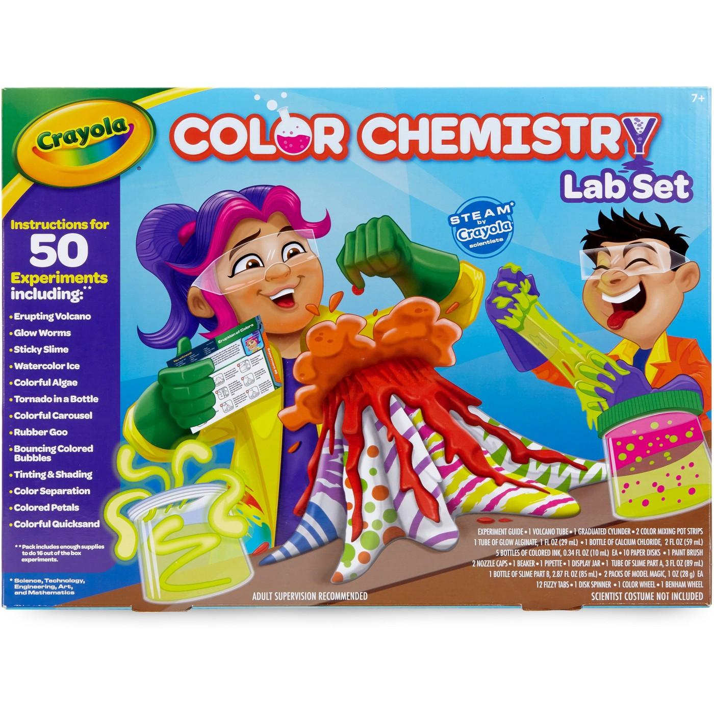 TargetCartwheel: Crayola Color Chemistry Lab set for Kids, Steam/STEM Activities $17.49 + Free store pickup