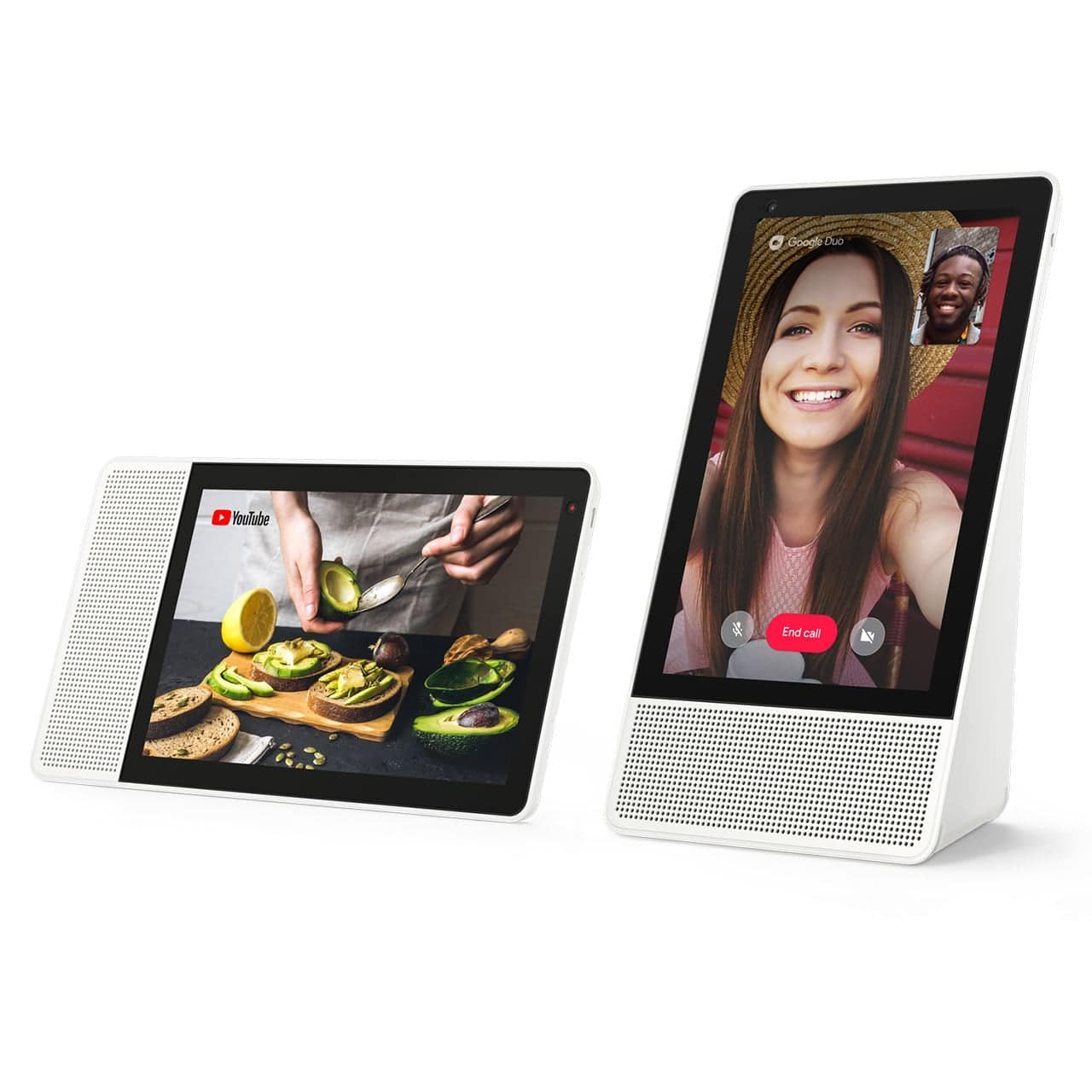 "Lenovo Smart Display w/Google Assistant: 10"" $127.49, 8"" $84.99 + Free S/H"