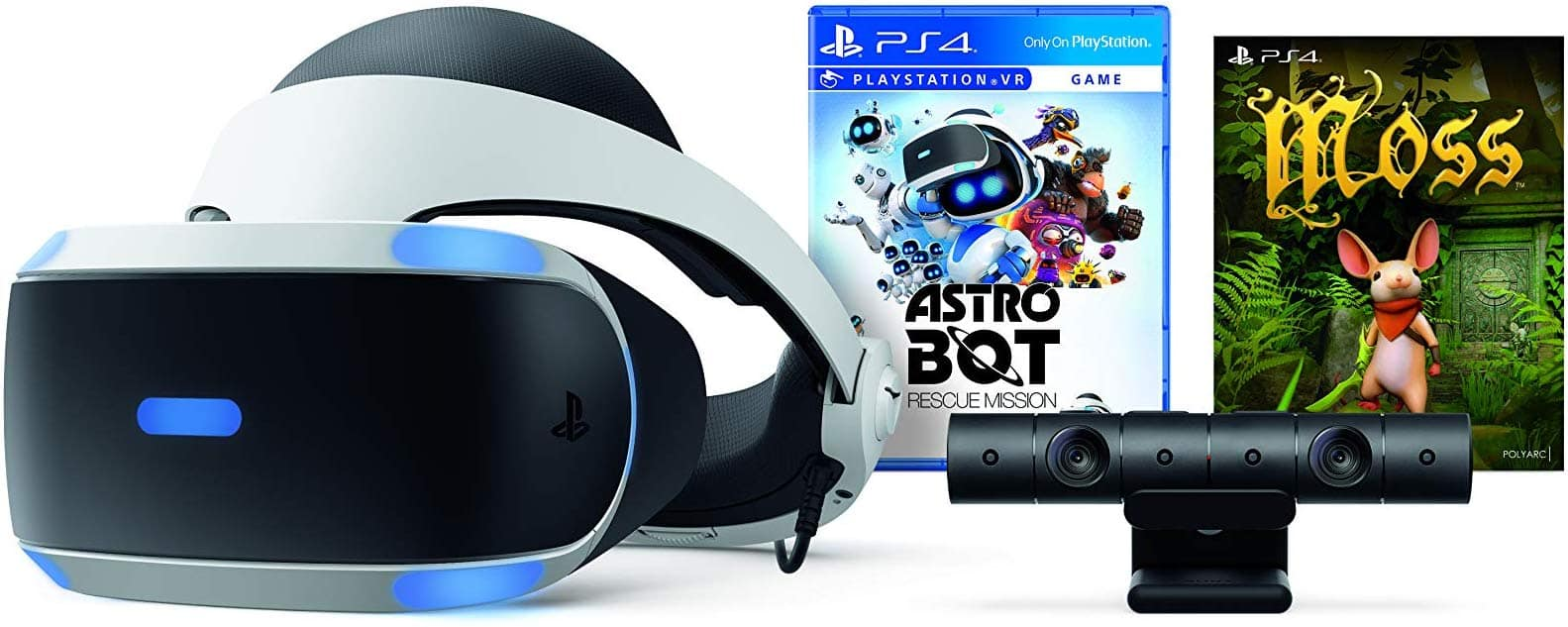 Sony PlayStation VR Astro Bot Rescue Mission + Moss Bundle $208 AC + Free Shipping
