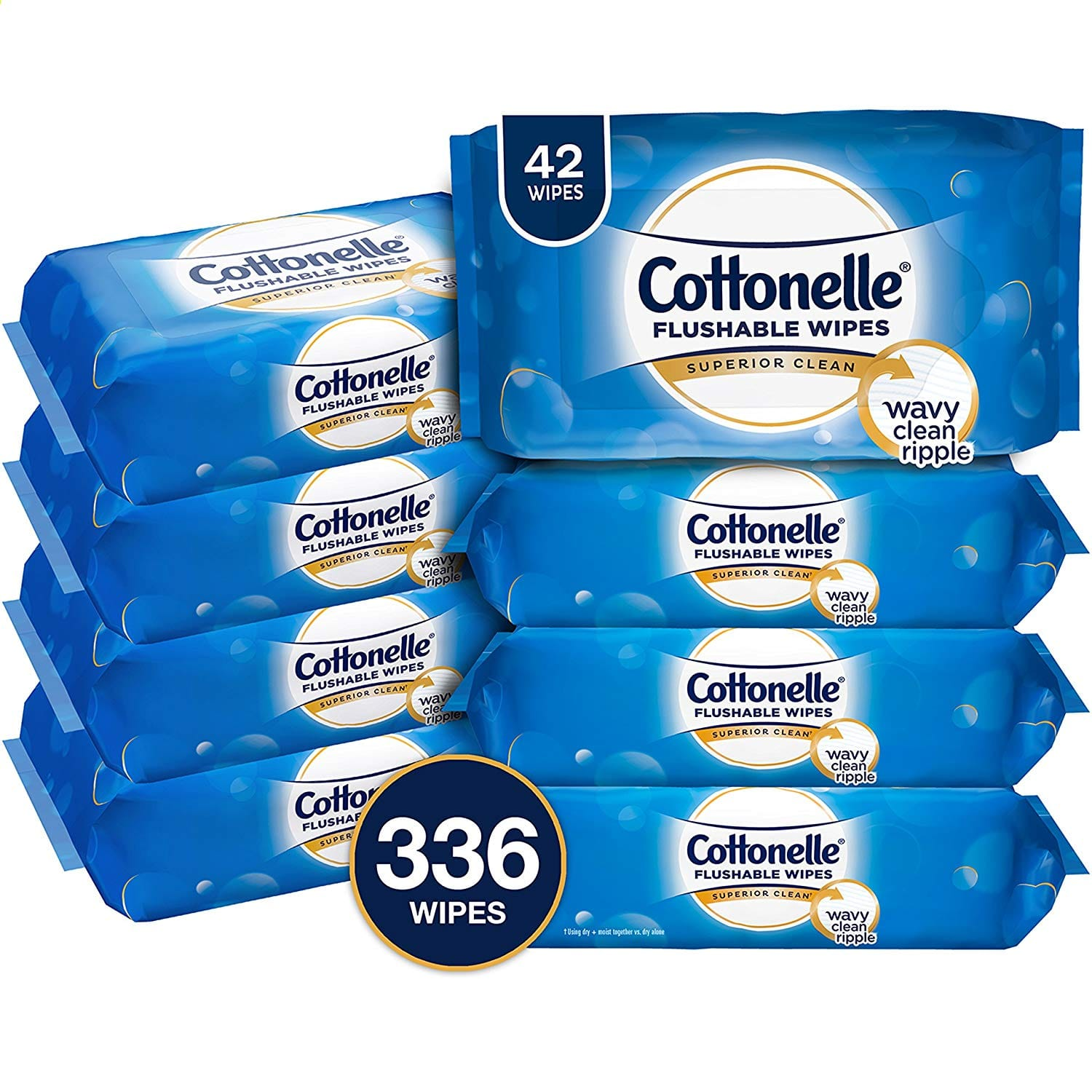336-Ct Cottonelle FreshCare Flushable Wipes (Alcohol Free) $11.25 w/ S&S + Free S&H