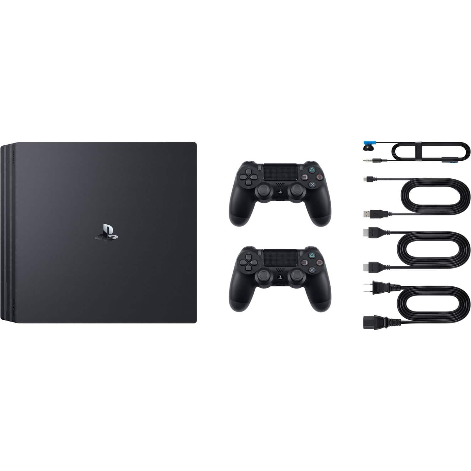 1TB Sony Playstation 4 PRO Console w/ Extra Dualshock Wireless Controller Bundle $379.95 AC + Free S/H