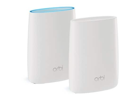 2-Pack NETGEAR Orbi RBK50 AC3000 Whole Home Mesh WiFi System with Tri-band(Refurb) $179.99 + FS w/Prime