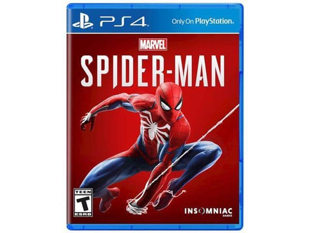 Marvel's Spider-Man (PS4) $31.99 or Red Dead Redemption 2 (PS4/Xbox) $35.99 + Free S/H