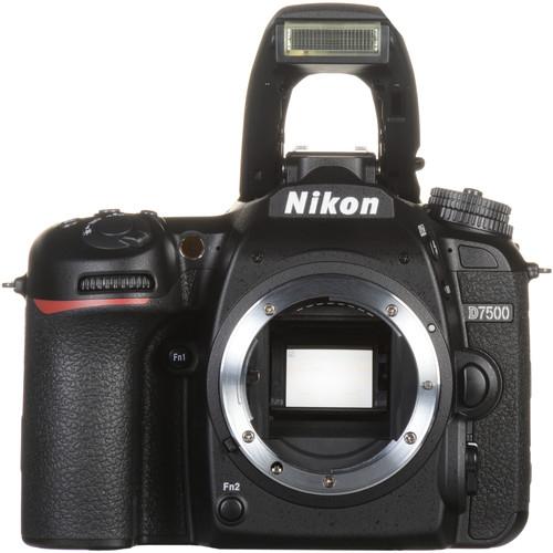 Nikon D7500 4K UHD DSLR Camera (Refurbished, Body Only) $699.99 + FS