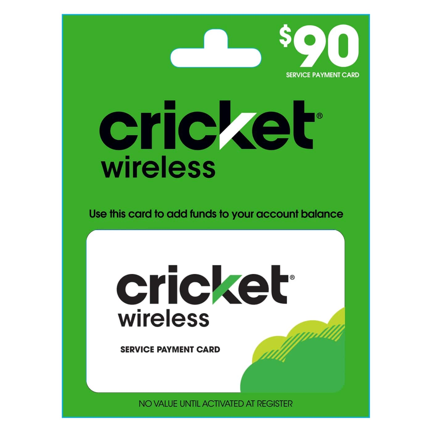Prepaid Refill Cards: Cricket, AT&T, Tracfone & More-10% Off(on $30 or more, equal to B1G1 20% Off with 2 x quantity) $30 Card $27 + Email Delivery