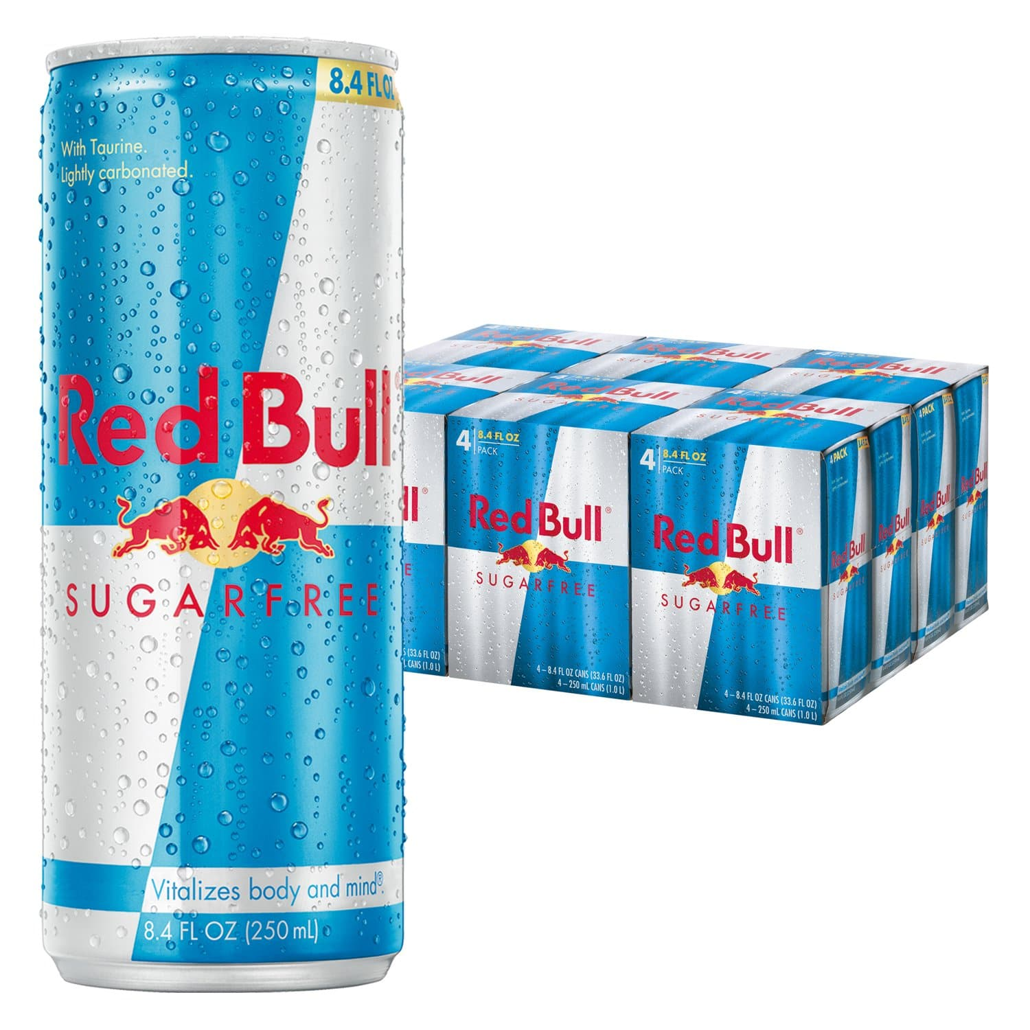 24-Pack 8.4oz. Red Bull Sugar Free Energy Drink $24.13(as low as $20.99) w/ S&S + Free S&H