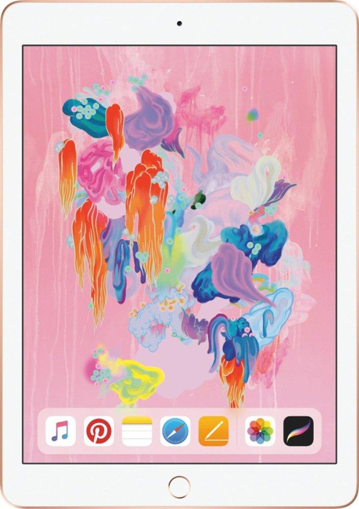 "My Best Buy Members: 128GB Apple iPad 9.7"" WiFi Tablet (Latest Model) $300 + Free Shipping"
