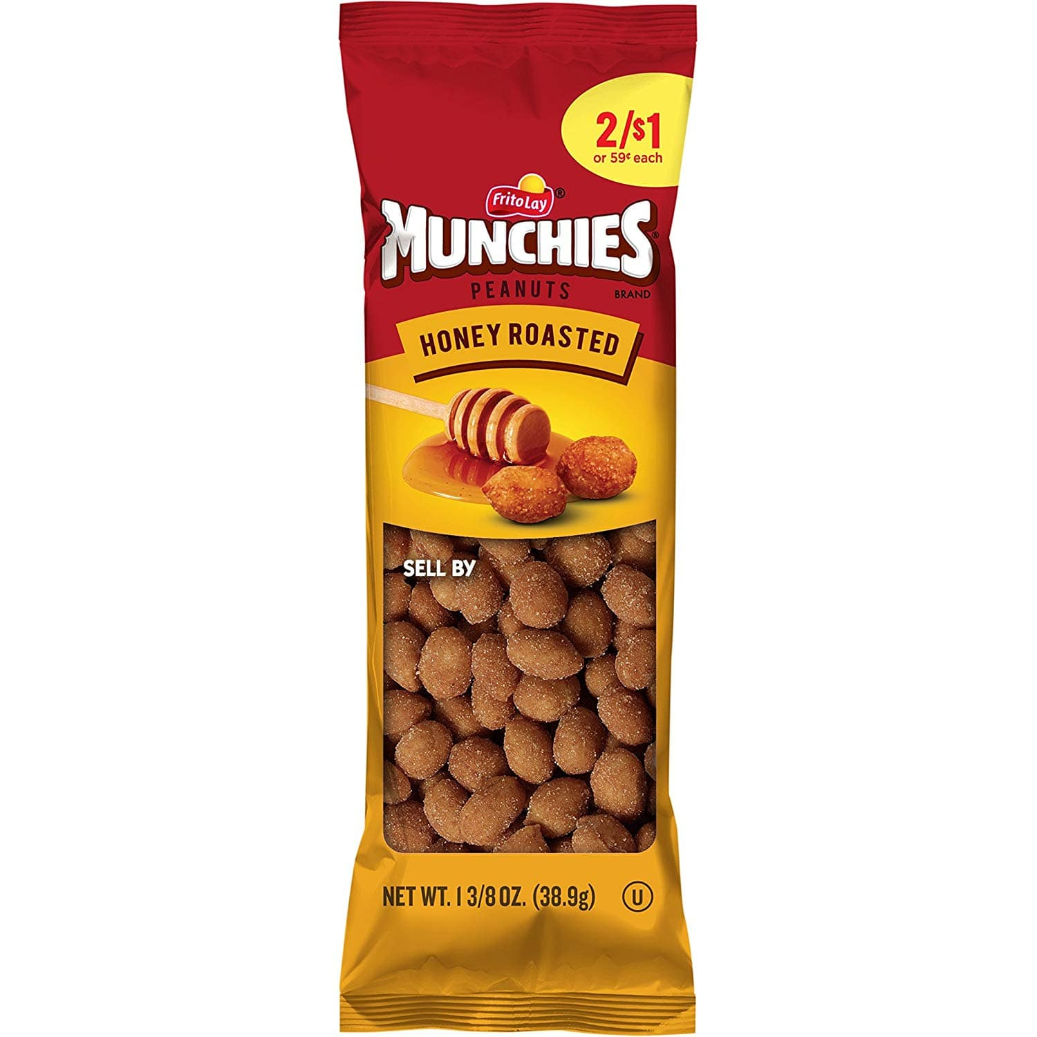 36-Count 1.375oz Munchies Honey Roasted Peanuts $10.77, Variety Pack $11.24 AC w/ S&S + F/S
