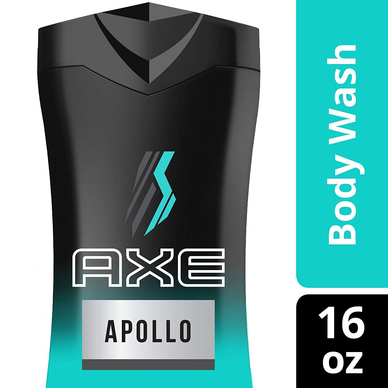4-Count 16oz AXE Body Wash for Men Apollo $10.08 ($8.48 15% S&S) + Free S&H