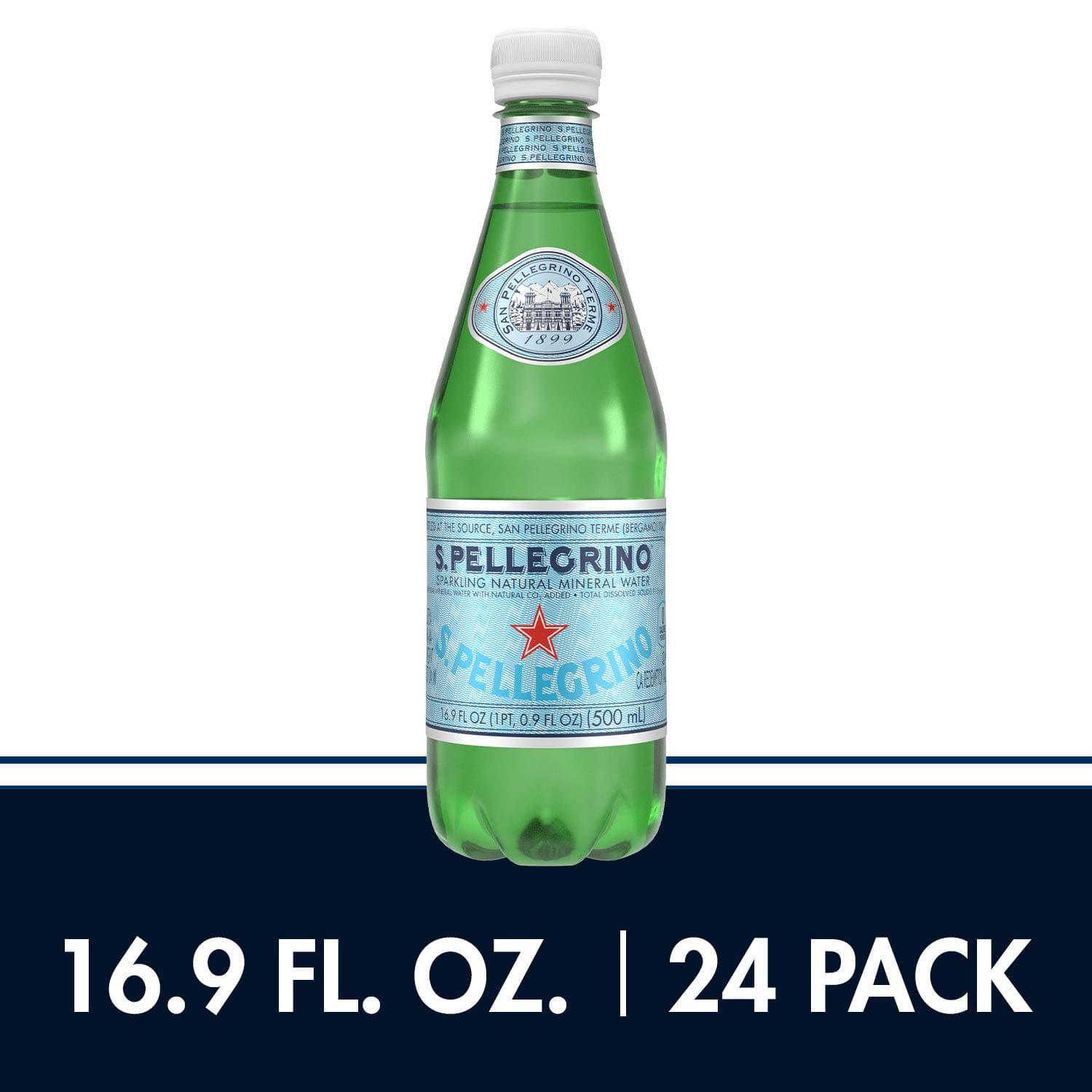 24-Count 16.9oz S.Pellegrino Sparkling Natural Mineral Water $10.49 + Free Shipping w/ Prime