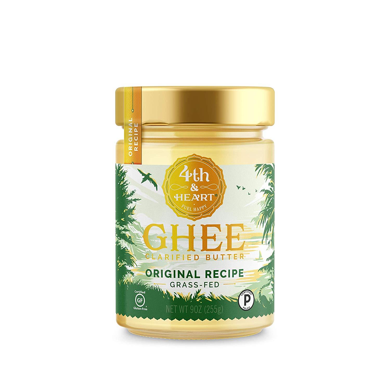 9oz 4th & Heart Original Grass-Fed Ghee Butter $7.64, 90z 4th & Heart Himalayan Pink Salt Grass-Fed Ghee Butter $8.04 w/ S&S + Free s/h