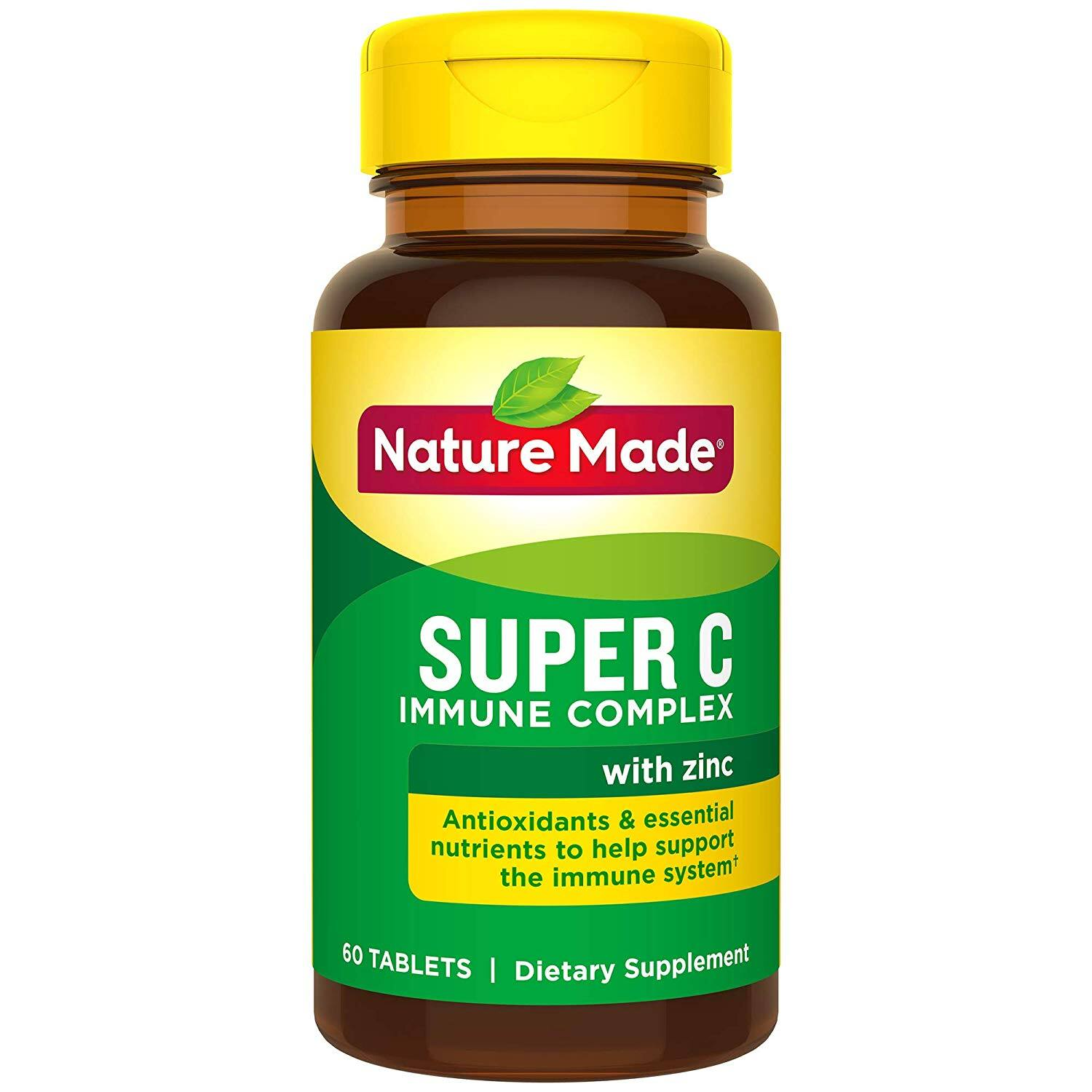 120-Count Nature Made Super C Immune Complex Tablets w/ Vitamin C, D & Zinc for FREE w/ S&S + free s/h