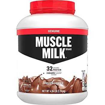 4.94lbs Muscle Milk Genuine Protein Powder (Chocolate) $23.80, Vanilla Crème $23.52 or less w/ S&S