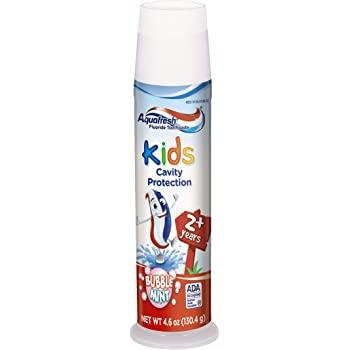 3-Ct 4.6oz Aquafresh Kids Toothpaste, Bubble Mint $3.85 or less w/ S&S