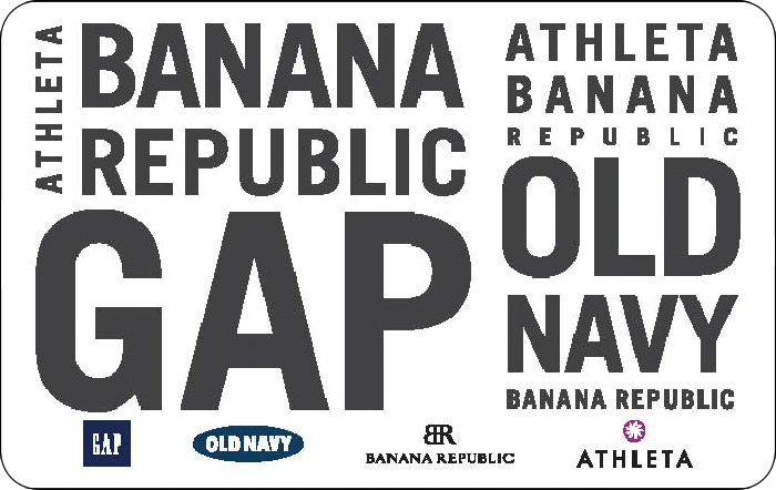 $50 Gap Options(Valid at Gap, Old Navy, Banana Republic and Athleta) eGC $40 @Paypal.com