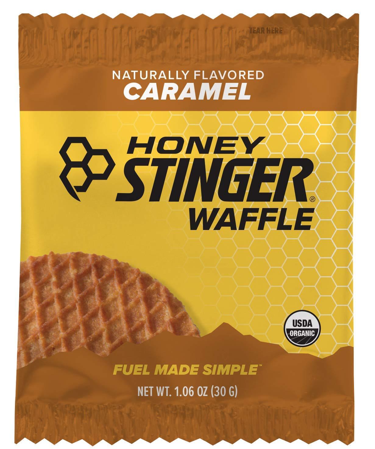 Prime Members: 16-Ct 1.06oz Honey Stinger Organic Sports Nutrition Waffle (Carmel) $8 w/ S&S & More