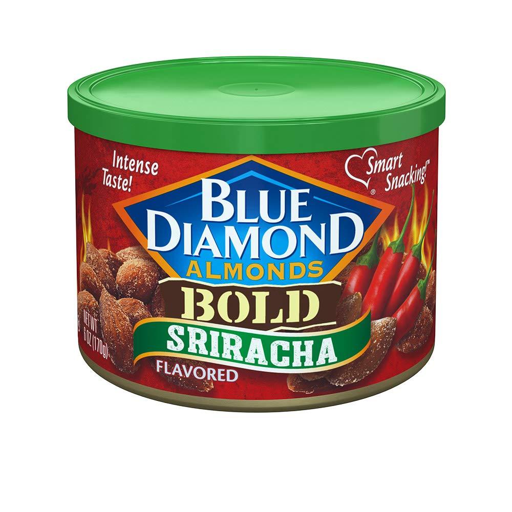6-Oz Blue Diamond Almonds, Bold Sriracha $2.15 or less w/ S&S
