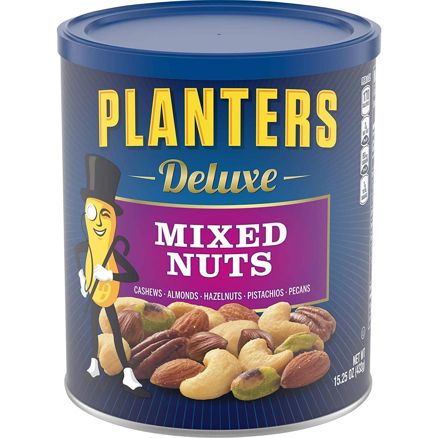 15.25-oz Planters Deluxe Mixed Nuts $6.78 or less w/ S&S