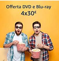 Four Movie 4K / UHD Bluray Bundle - Amazon Italy - Matrix, The Mule, Prometheus and more $44