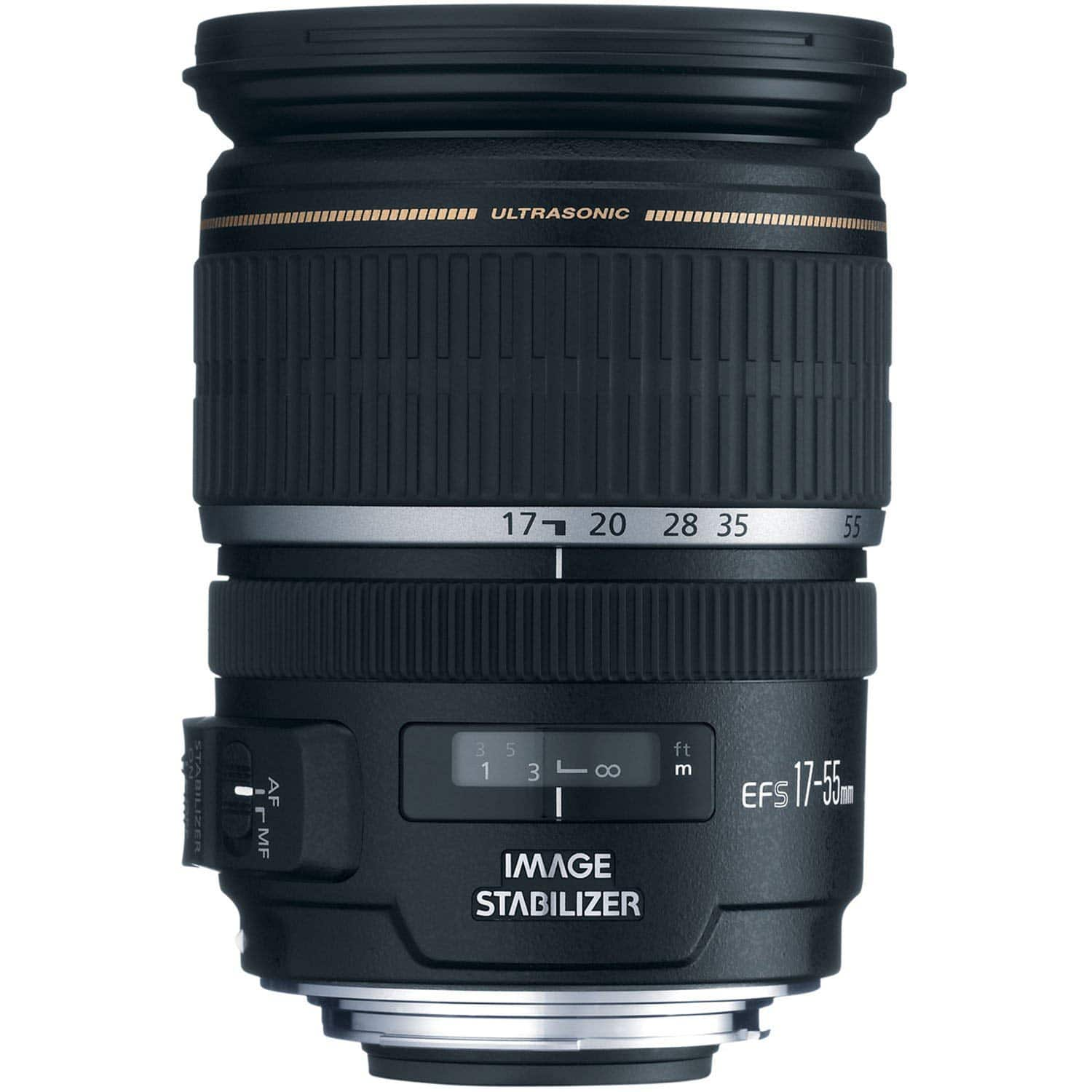 Canon EF 5 17-55mm f/2.8 IS USM.  $549 lowest on CCC