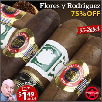 ** Expired** :( 10 for $15 free shipping 95+ rated Flores Y Rodriguez Cigars