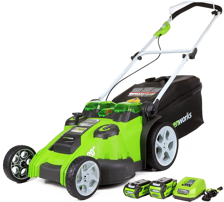 """Greenworks Electric Cordless  20"""" 40V $279.30"""