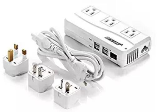 BESTEK Universal Travel Adapter 220V to 110V Voltage Converter [6A 4 Port] $28.99 AC