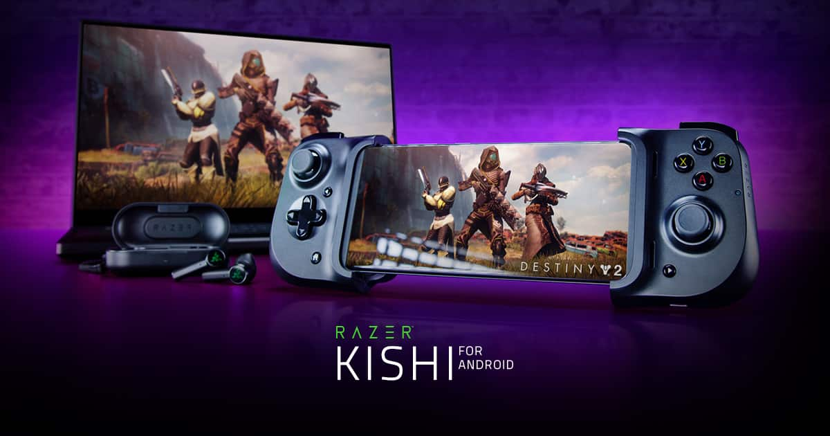 Razer Kishi mobile gaming controller Android- $79 with Free $15 Gift Card from Razer $79.99