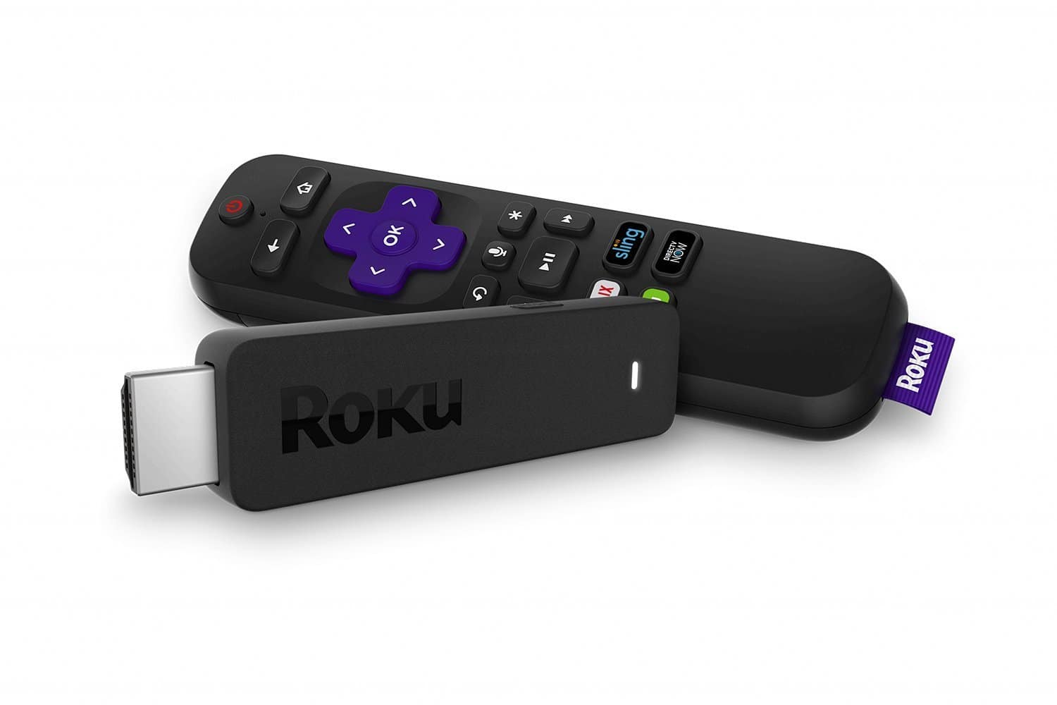 Roku Streaming Stick with TV power and volume (2017) $39.99
