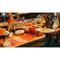 Travelzoo Deal: Travelzoo: $39 -- Mirage: Vegas Top 10 Buffet for 2 w/Drinks, Reg. $80