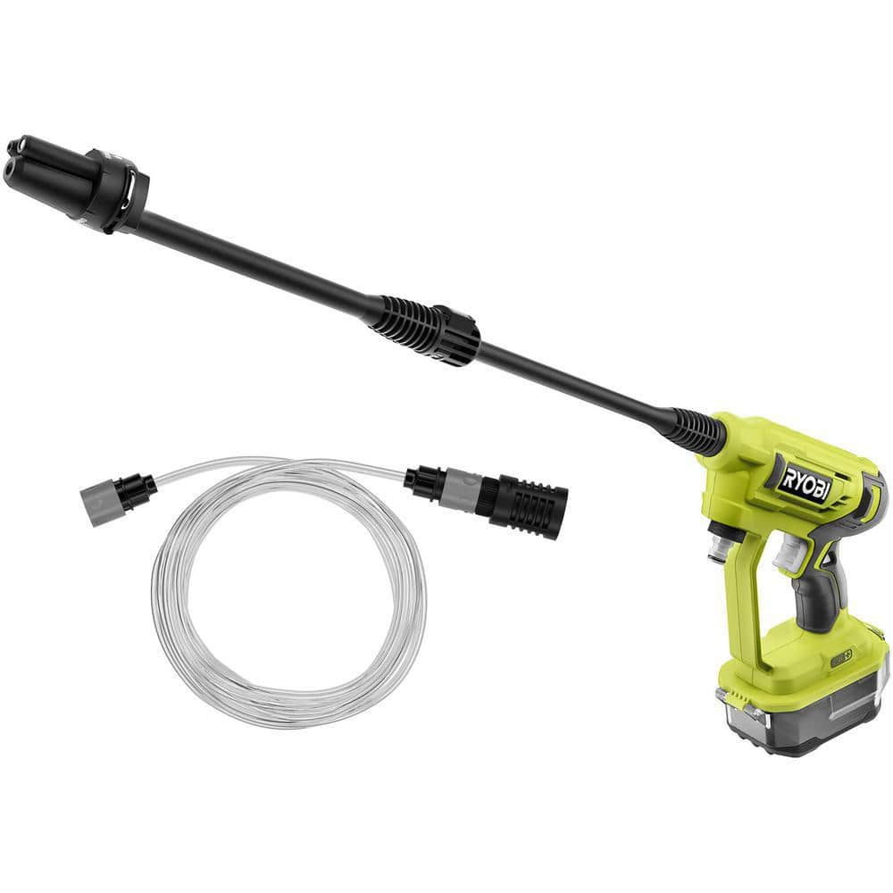 Ryobi 18V ONE+ Cordless Power Cleaner + 2-Pack 4.0 Ah Battery Kit + Charger, Bag & Free Shipping $99