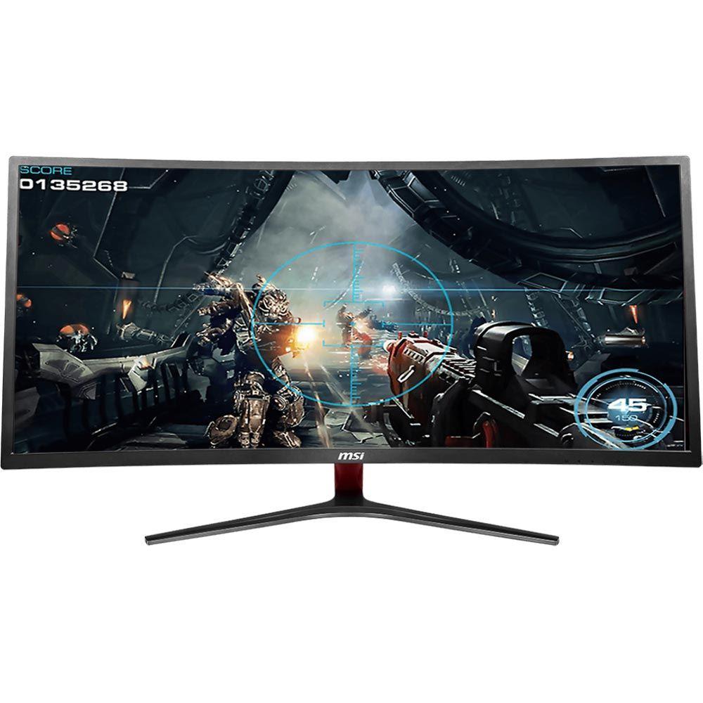 "MSI Optix MAG341CQ 34"" 3440 x 1440p 100Hz FreeSync Curved LED Gaming Monitor $339.99"