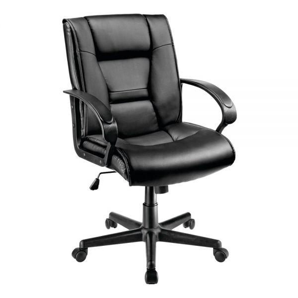 $59 Brenton Studio Ruzzi Mid-Back Manager's Chair, Black. Free Ship.